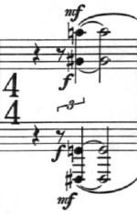 Klavierstuck 1 - Groupe 8 - Mesure 9