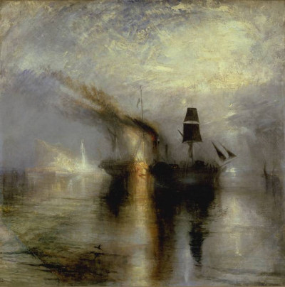 "Joseph Mallord William Turner - ""Peace - Burial at Sea"""