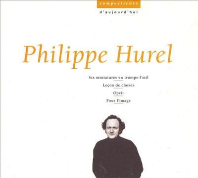 Philippe Hurel - Pour l'image