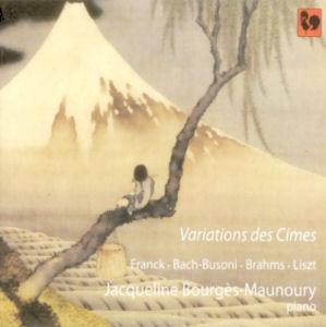 Jacqueline Bourgès-Maunoury - Variations des cimes