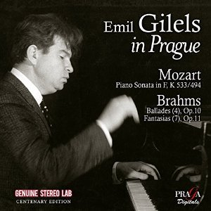 Emile Guilels in Prague