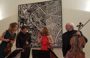 Le quatuor Elysée à l'hôtel de Beauvais - Justina Zajančauskaitė - Laurent Le Flécher - Adeliya Chamrina - Igor Kiritchenko