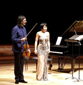 Leonidas Kavakos et Yuja Wang à la Philharmonie