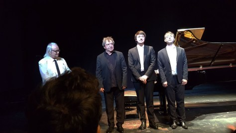 Philippe Manoury, Jean-François Heisser, Philippe Hattat, Jean-Frédéric Neuburger