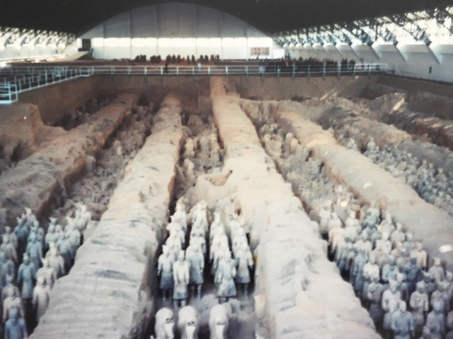 Terracotta Warriors in Xian China