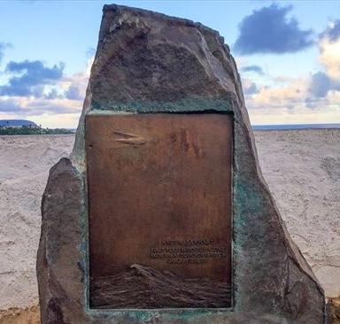 Amelia Earhardt Plaque