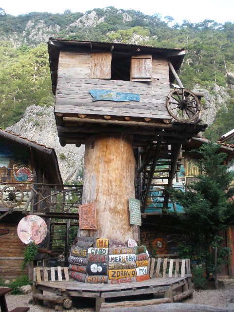 Treehouse Hostel Turkey Olympos