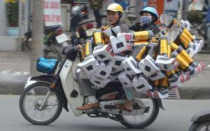 Vietnam motor bike