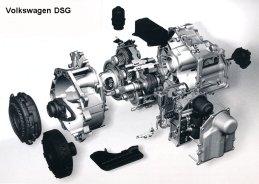 Volkswagen dsg gearbox with mechatronics