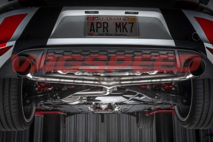 Cat-back Golf MK7 GTI APR