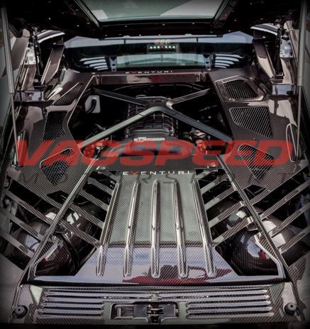 Lamborghini Huracán Kevlar – Sistema de admisión de Eventuri