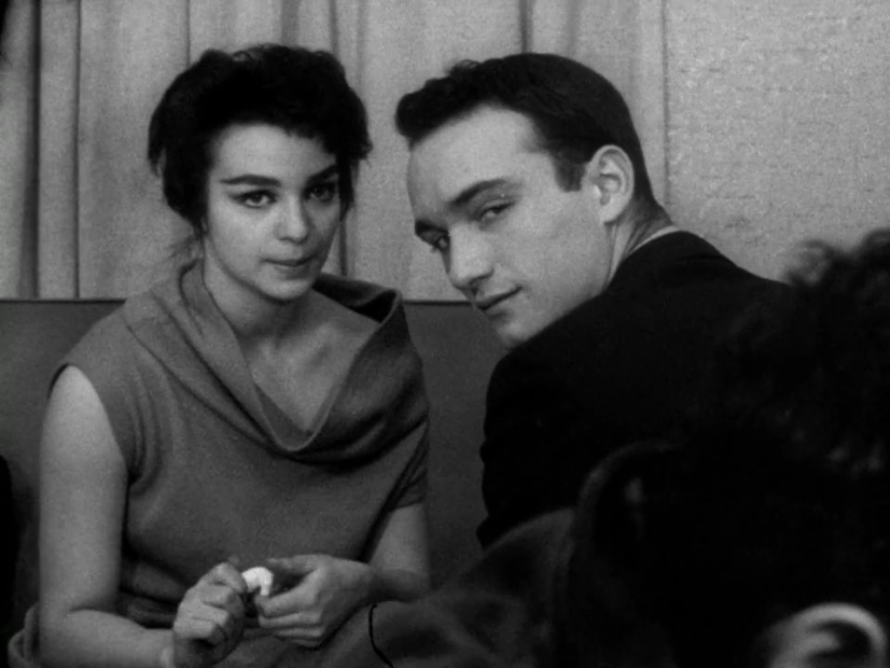 Lelia Goldoni and Anthony Ray in John Cassavetes' 'Shadows' (1959)