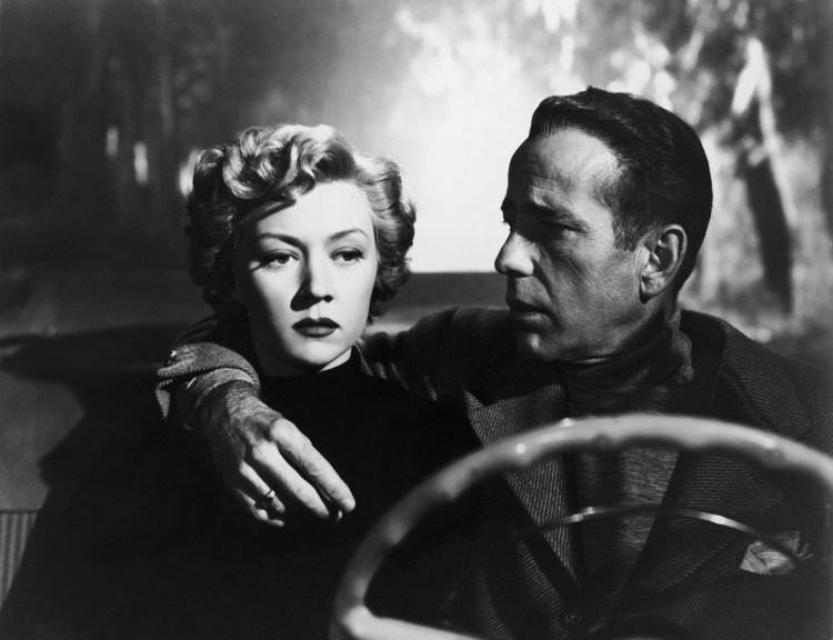 Gloria Grahame and Humphrey Bogart in Nicholas Ray's IN A LONELY