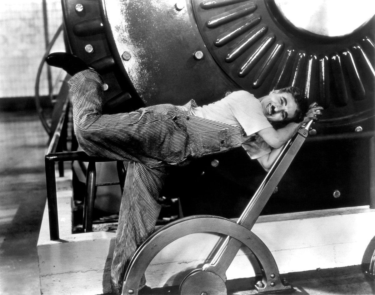 'Modern Times': Charlie Chaplin Finds Freedom in the Age of Industry