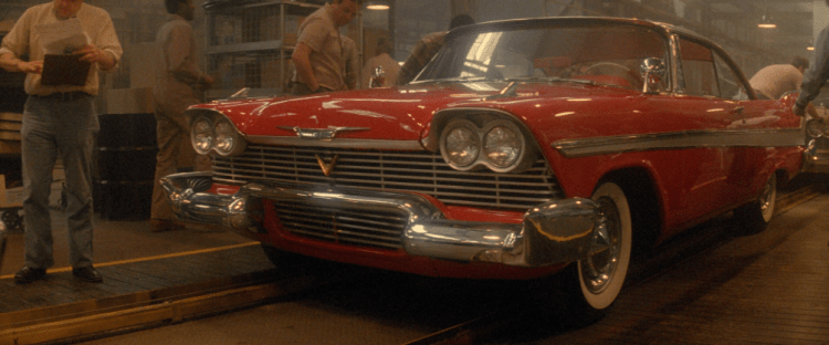 Christine Movie Car: Of Love And Other Demons: 'Christine' (John Carpenter, 1983