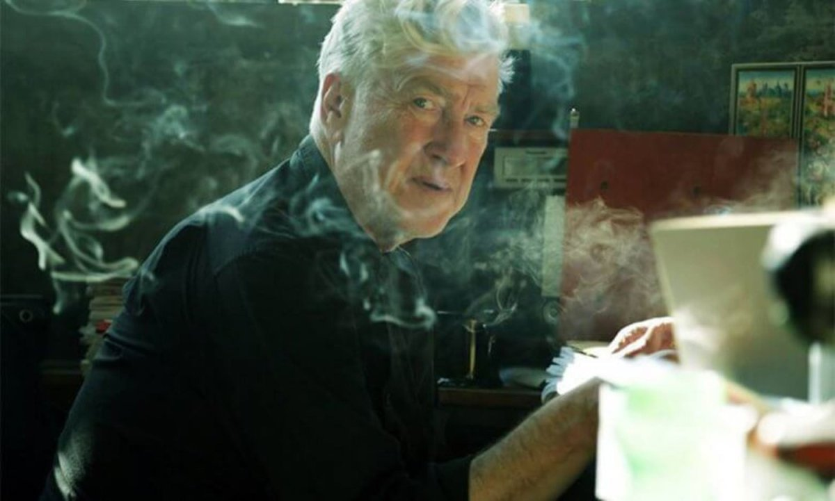 Behind the Curtain in 'David Lynch - The Art Life'