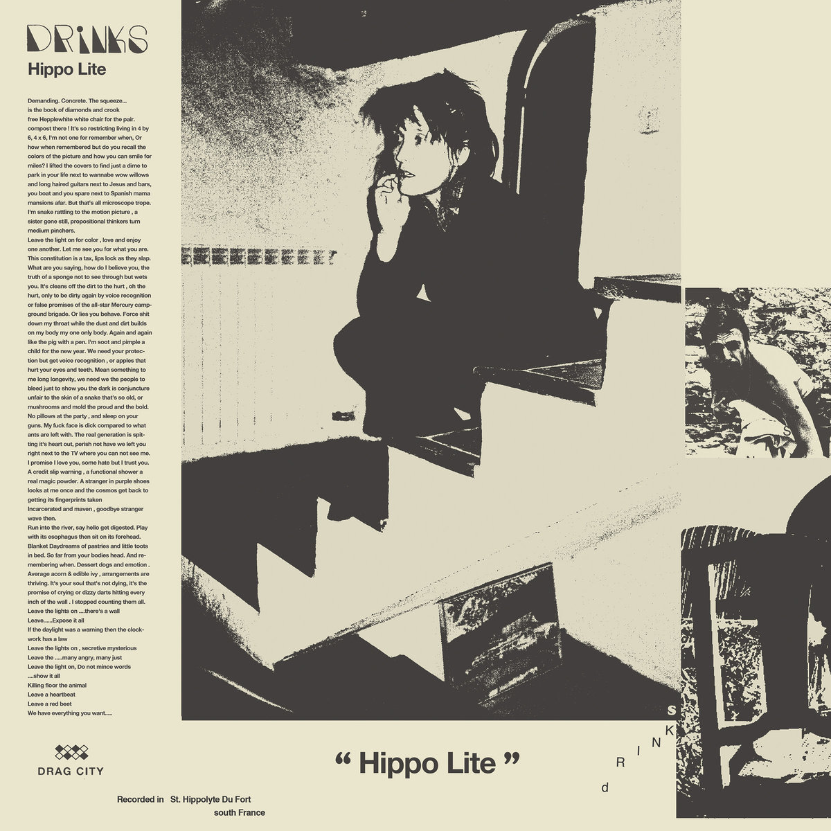Album Review: Drinks 'Hippo Lite'