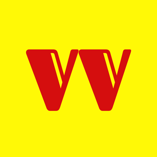 Vague Visages Logo Giallo