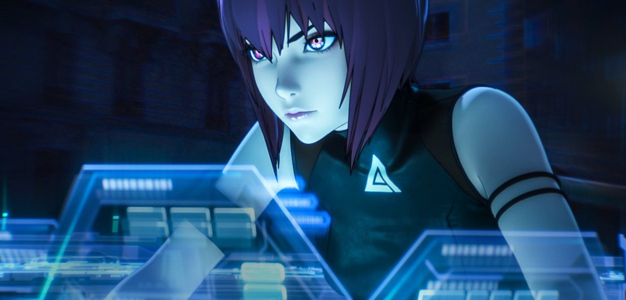 Ghost in the Shell SAC_2045 on Netflix