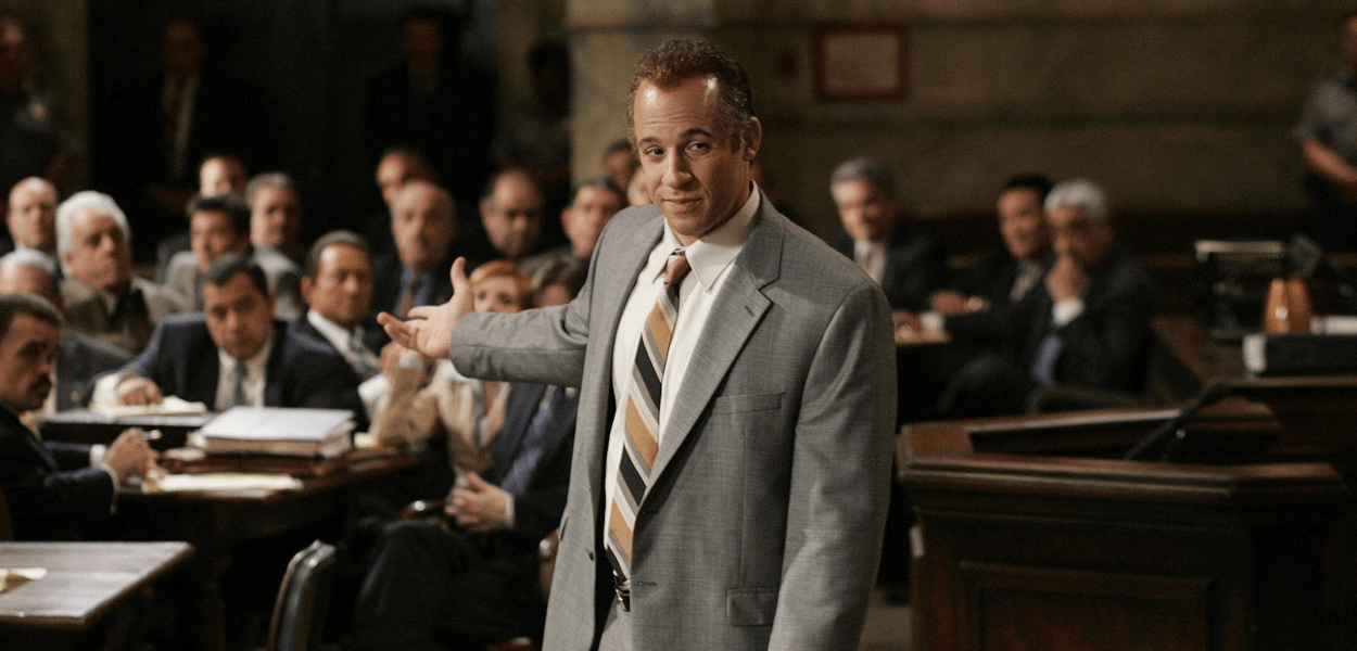 Vin Diesel in Find Me Guilty