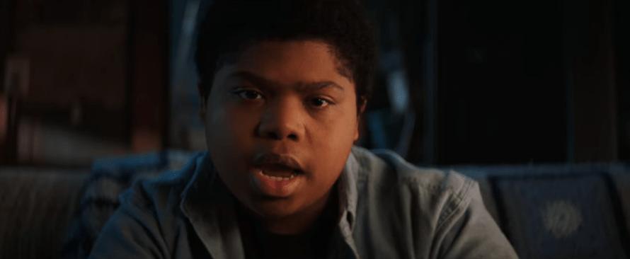 Benjamin Flores Jr. as Josh in Fear Street Part One: 1994 on Netflix