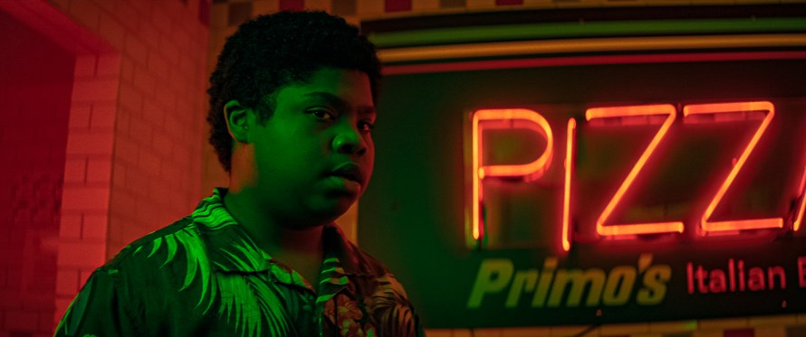 Benjamin Flores Jr. as Josh in Fear Street Part Three: 1666 on Netflix
