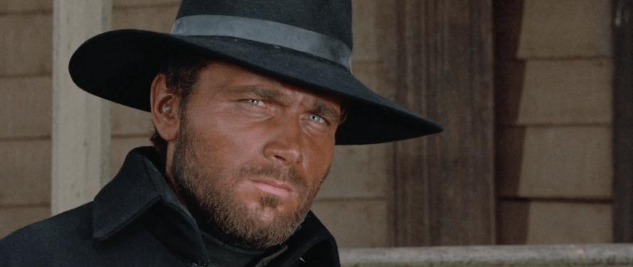 Franco Nero as Tom Corbett in Massacre Time