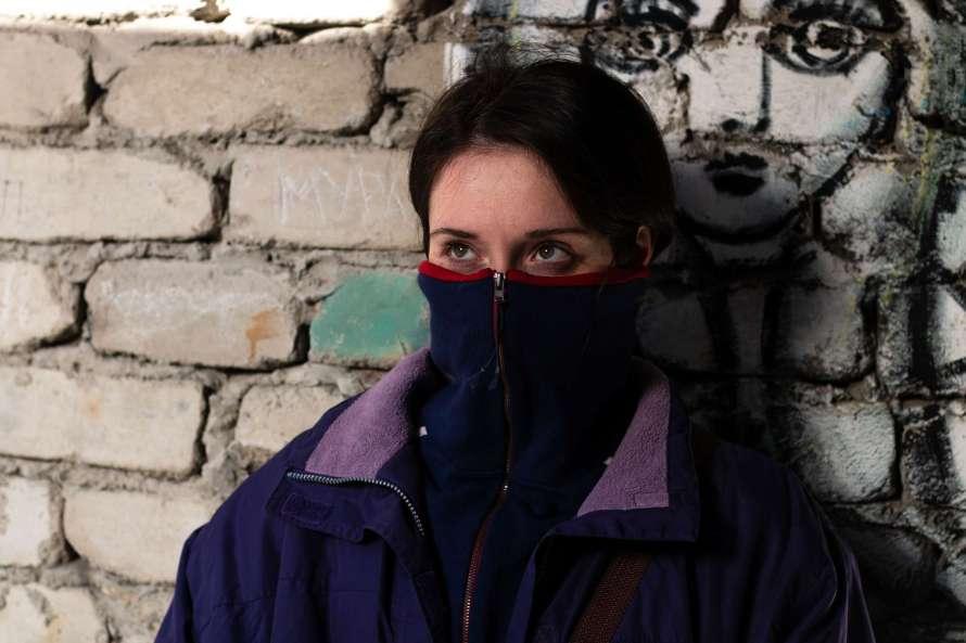 Milana Aguzarova as Ada in Unclenching the Fists