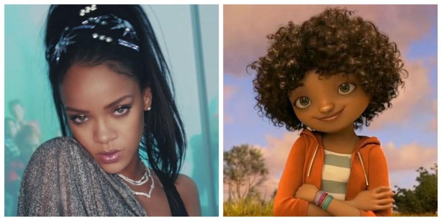 Home Voice Cast - Rihanna as Tip Tucci