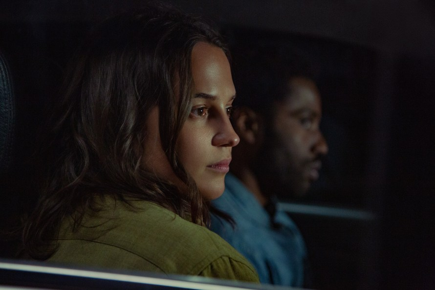 Beckett Cast and Characters - Alicia Vikander as April