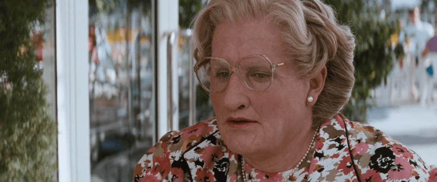 Mrs. Doubtfire Cast - Robin Williams as Daniel Hillard