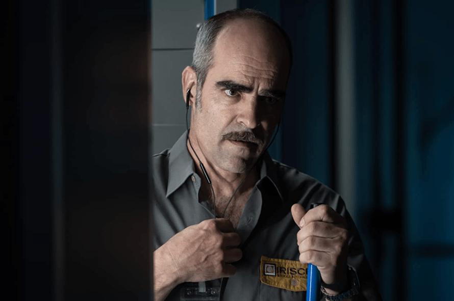 The Vault Cast - Luis Tosar as Simon