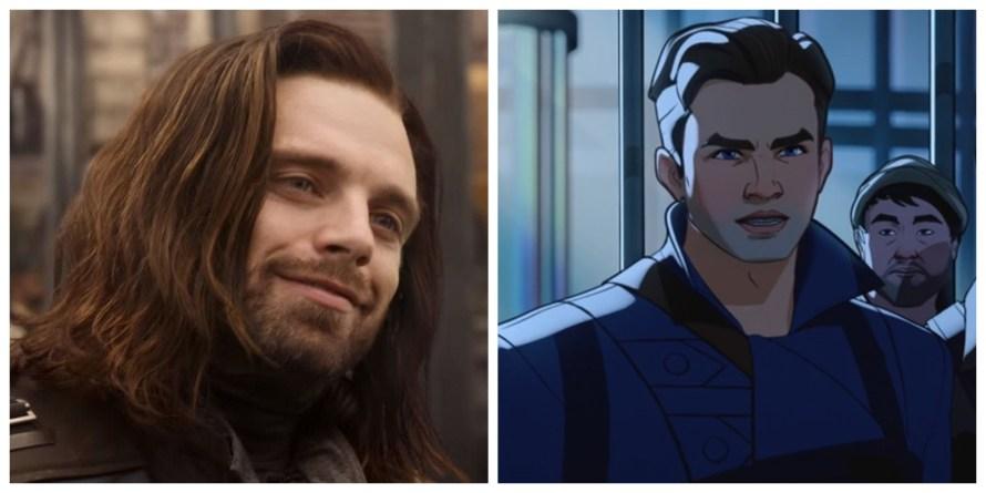 What If Voice Cast - Sebastian Stan as Bucky Barnes