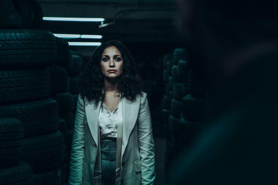 Ganglands Cast (Braqueurs) on Netflix - Nabiha Akkari as Sofia