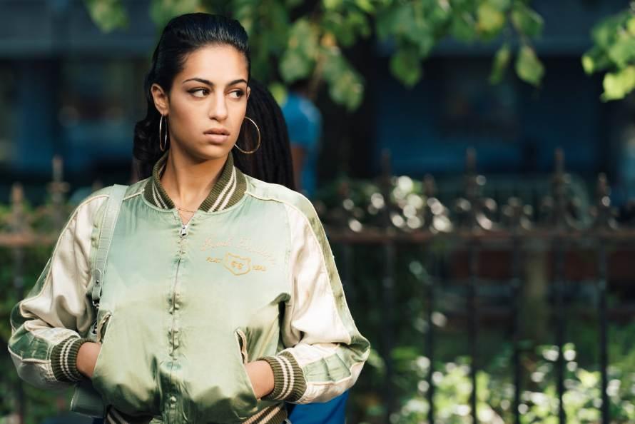 Ganglands Cast (Braqueurs) on Netflix - Sofia Lesaffre as Shainez