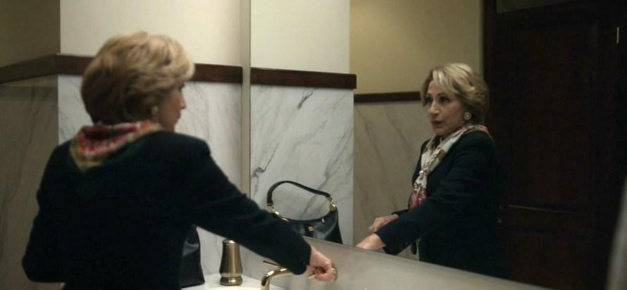 Impeachment: American Crime Story Cast - Edie Falco as Hillary Clinton