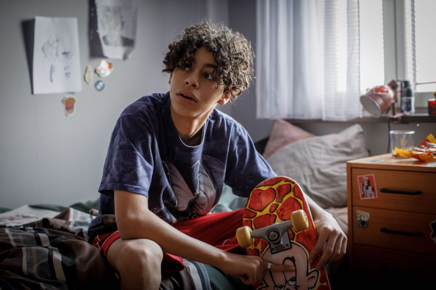 JJ+E Cast on Netflix - Mustapha Aarab as John John