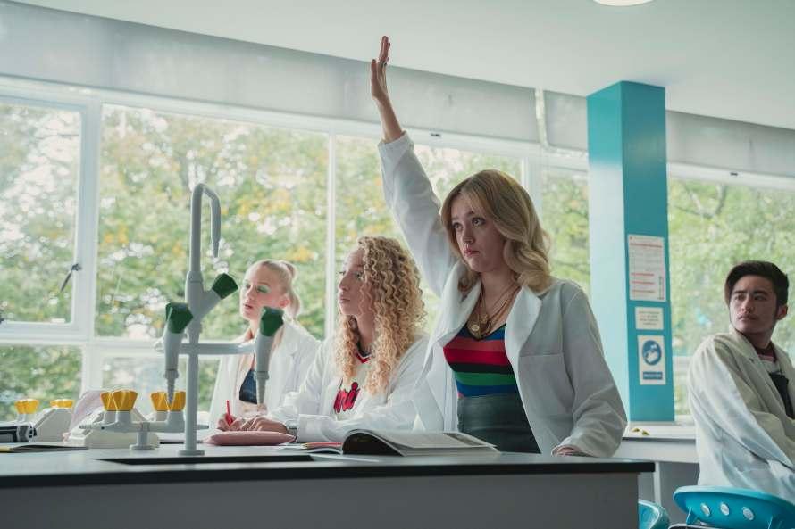 Sex Education Season 3 Cast - Aimee Lou Wood as Aimee Gibbs