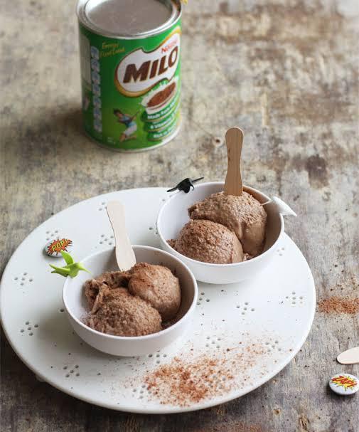 Es Krim Milo : Membuat, Penyegar, Dahaga, VAGUS