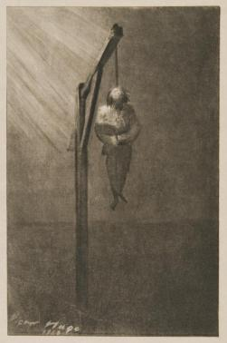 """""""The Hanging of John Brown,"""" 1860. John Hugo. Observers were conflicted in their judgment of a man who had invaded an American town. Most white southerners denounced John Brown as a lunatic and criminal. In the same way, many in the North rejected his violence, but other whites there eulogized a martyr whose death opened the way to emancipation. (VHS call number: E451 H89)"""
