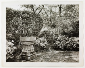 Then: The baptismal font (Virginia Historical Society, 1948.W.3129)