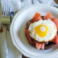 Open-Face Breakfast Sliders