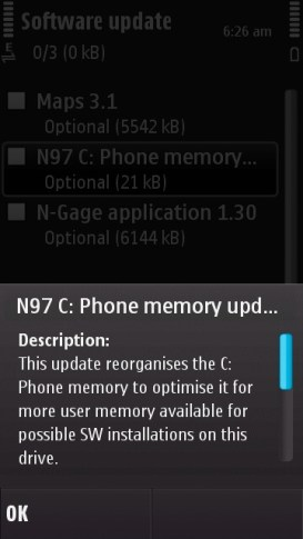 Updates For The N97