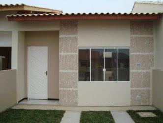 simples casas fachadas fachada casa projetos dicas mais uma pequena porem bonita