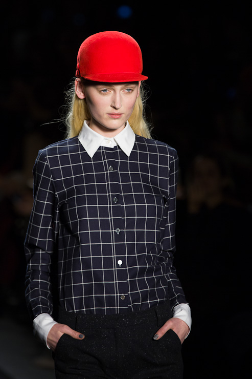 Timo Weiland Fall/Winter 2013/2014 Mercedes-Benz Fashion Week in New York City