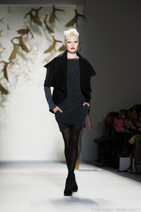 Fall Winter 2013-2014 CZAR by Cesar Galindo collection at Mercedes Benz Fashion week in New York City by Vail Fucci of Fucci's Photos