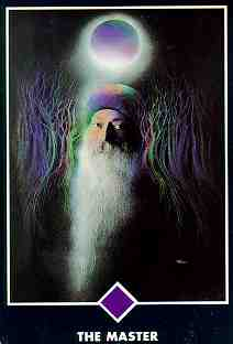 osho tarot card the master