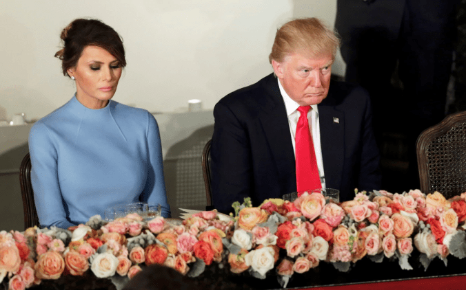 Trump and Melania lack of intimacy