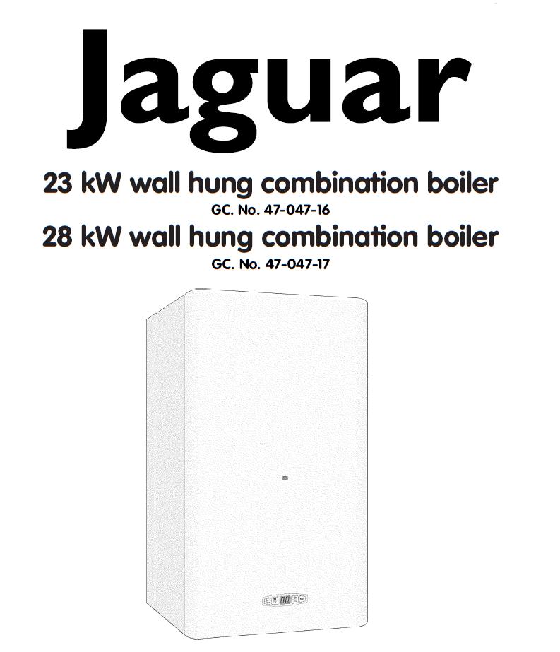 Jaguar Boiler Manual