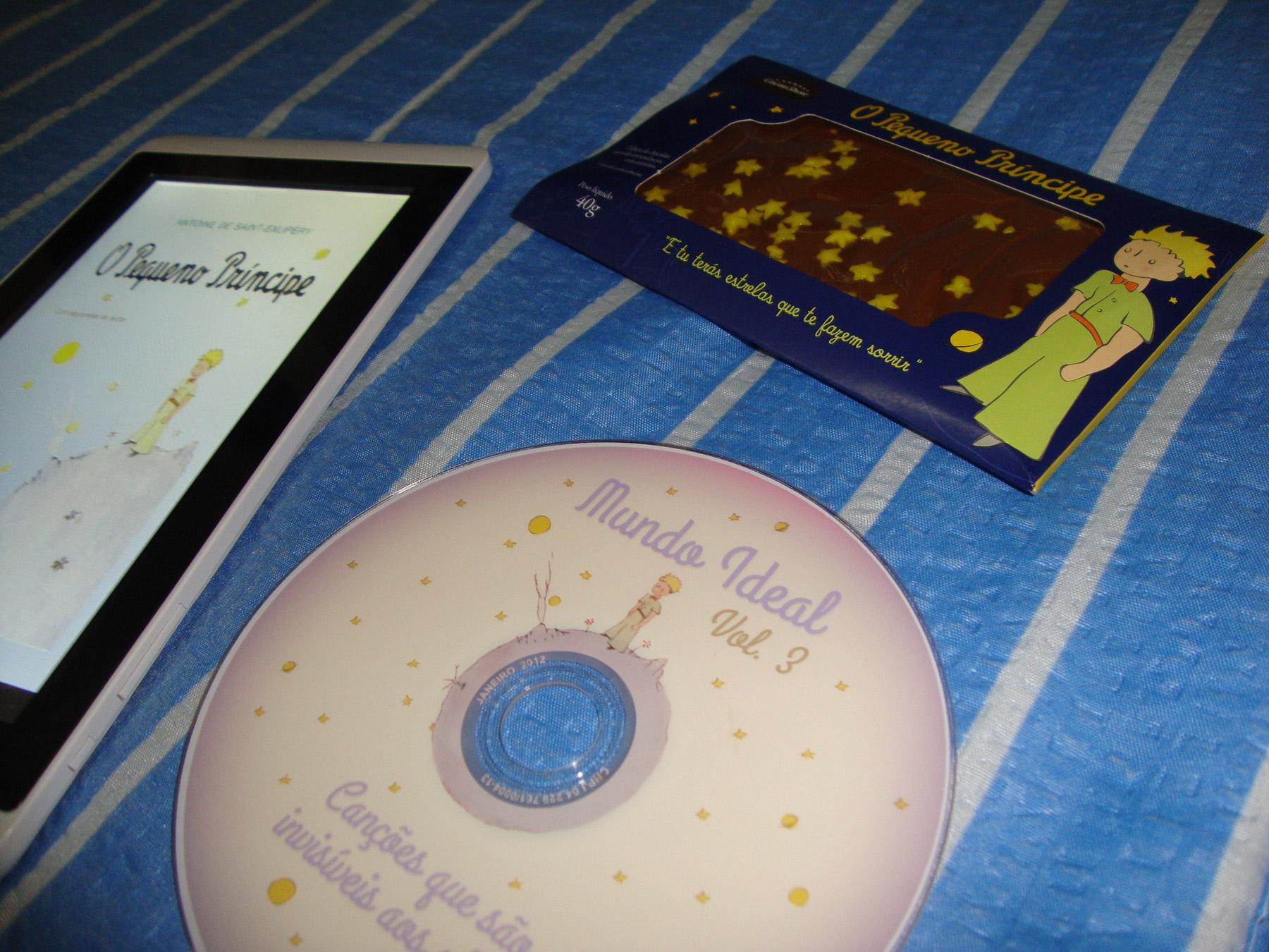 CD do Pequeno Príncipe - Faça você mesmo